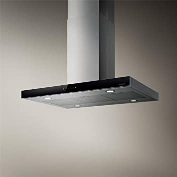 joy island cooker hood elica kitchen island in 90x60 cm