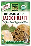 Native Forest Organic Jackfruit, Vegan Meatless Alternative, 14 Ounce (Pack of 6)