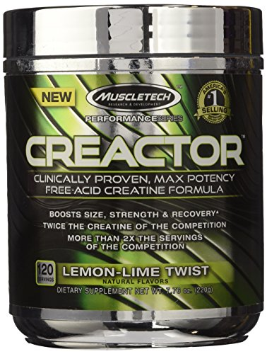 MuscleTech Creactor Creatine Micronized Servings