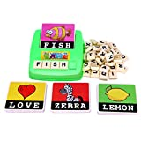 Boddenly Education Toys English Spelling Alphabet Letter Game Early Learning Educational Toy Kids