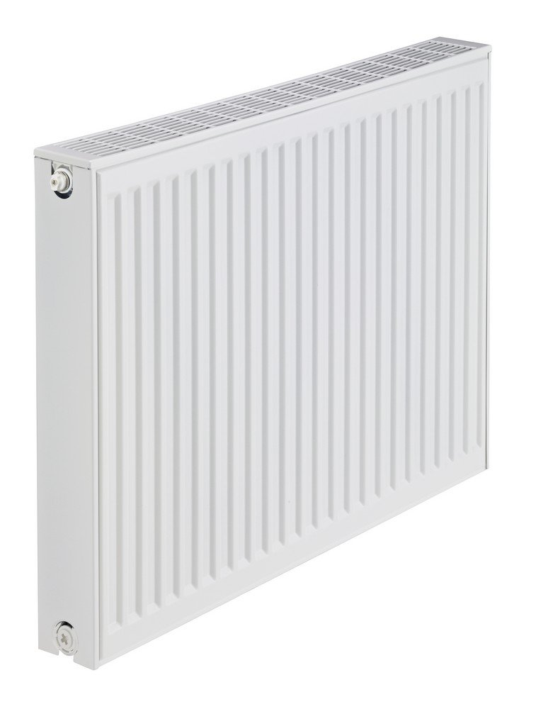 Stelrad Compact P+ Type 21 Double Panel Single Convector Radiator 300mm x 500mm White