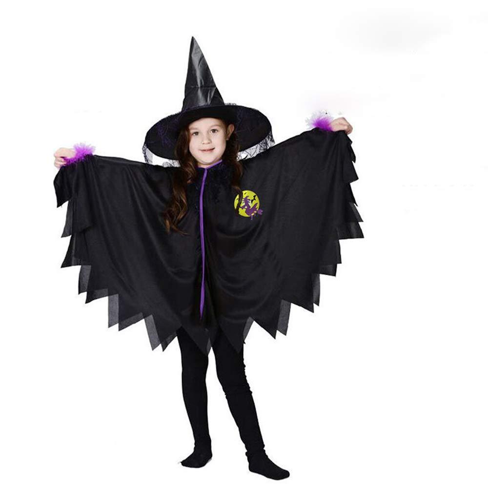 CrazyTiger Baby Boys Girls Halloween Bat Children Toddlers Cosplay Infant Performance Clothes Hat
