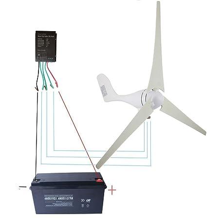 Amazoncom Wind Turbine Generator Kit 400watt Dc12v24v Of 3