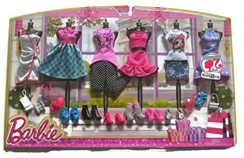 Barbie Doll Clothing & Accessory Set by Mattel