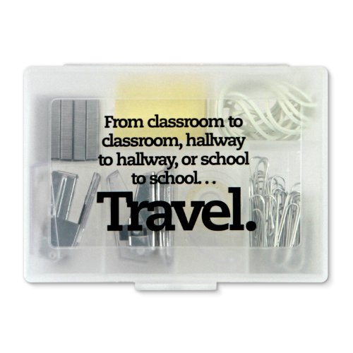Teacher Peach Travel Kit For Teachers - Terrific Teacher Gift