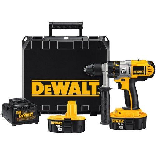 DEWALT DCD950KX 18-Volt XRP 1/2-Inch Drill/Driver/Hammerdrill Kit Hammer Drill Kit