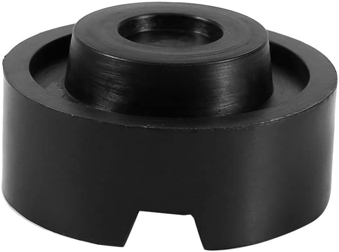 Zerone Jack Rubber Pad 65x33mm Cylinder Shape Rubber Pad Rubber Block for Hopper Stock Bin Jack Durable