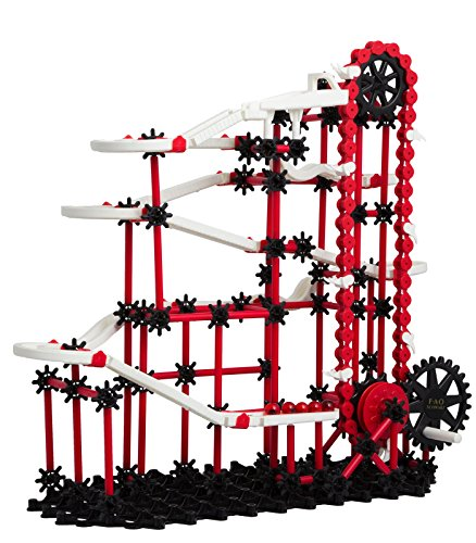 FAO Schwarz Ultimate Marble Run Race Toy For Kids 313 Pieces | Stimulates Creativity, Imagination & Motor Skills, Sturdy Colorful Design, Endless Combinations For Science and Engineering
