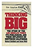 Thinking Big, Robert Gottlieb and Irene Wolt, 0399117660