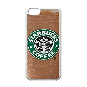 iPhone 5C Custom Cell Phone Case Starbuck Coffee Case Cover WWFL34338