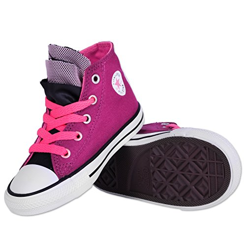 CONVERSE ALL STAR CHUCK TAYLOR BABY SCHUHE LILA PFLAUME PINK KINDER SNEAKER 21-25 Lila