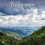 Tennessee, Wild & Scenic 2019 12 x 12 Inch Monthly Square Wall Calendar, USA United States of America Southeast State Nature (English, French and Spanish Edition)