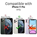 Ferilinso Screen Protector for iPhone 11 Pro with 3 Pack Camera Lens Protector, Tempered Glass Film for iPhone 11 Pro 5…