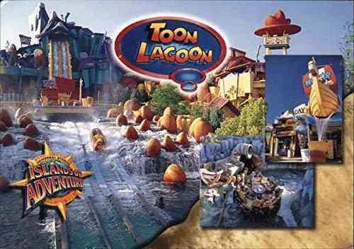 Universal Studios Islands of Adventure - Toon Lagoon Amusement Parks Original Vintage Postcard from CardCow Vintage Postcards