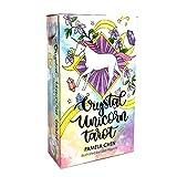 78 pcs New Crystal Unicorn Tarot Cards Guidance