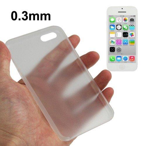 Coque de protection ultra fine 0,3mm pour téléphone portable Apple iPhone 5C Transparent