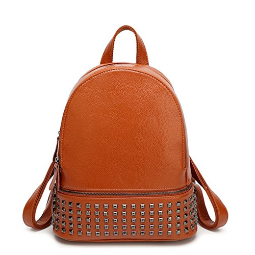 Willie Marlow Women Genuine Leather Backpacks 3 Colors