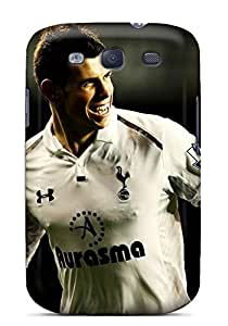 MMZ DIY PHONE CASESpecial Mialisabblake Skin Case Cover For Galaxy S3, Popular Gareth Bale Real Madrid Phone Case