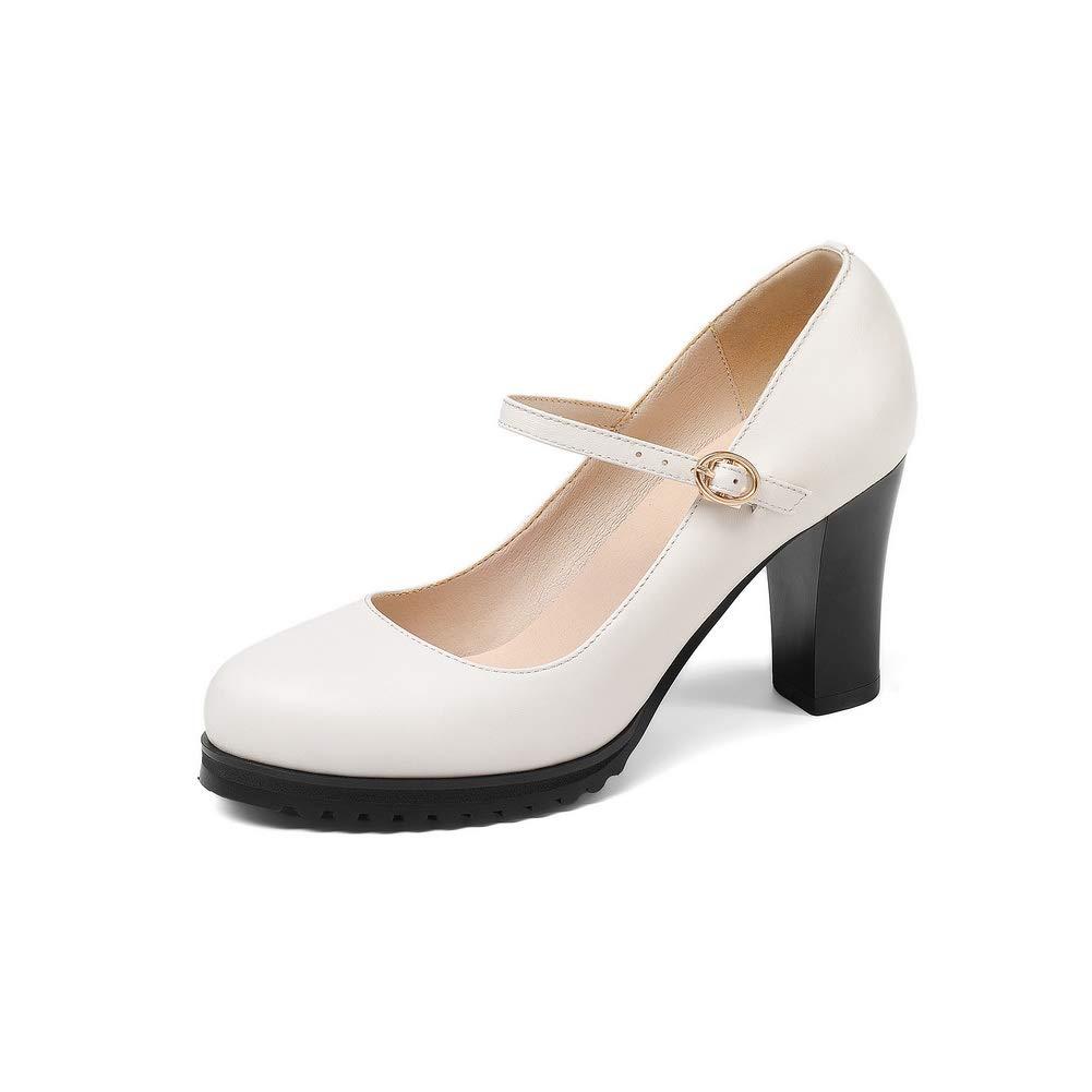 BalaMasa Womens Casual Platform Travel Urethane Pumps Shoes APL11195