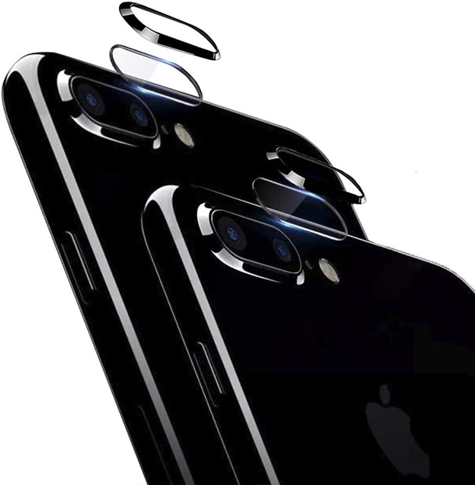 2 vidrios templados para iphone 7 plus/8 plus 2.5D