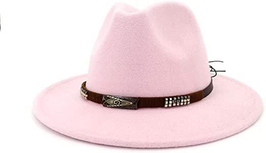 KFEK Americana Pareja Retro Sombreros de Lana Planas Jazz Hat A7 ...