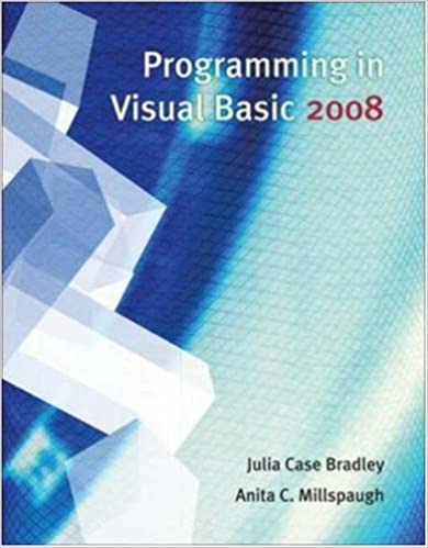 Programming in Visual Basic 2008 - Library