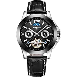 BINKADA Men's Novelty Automatic Mechanical Waterproof Watch #7033B02-1