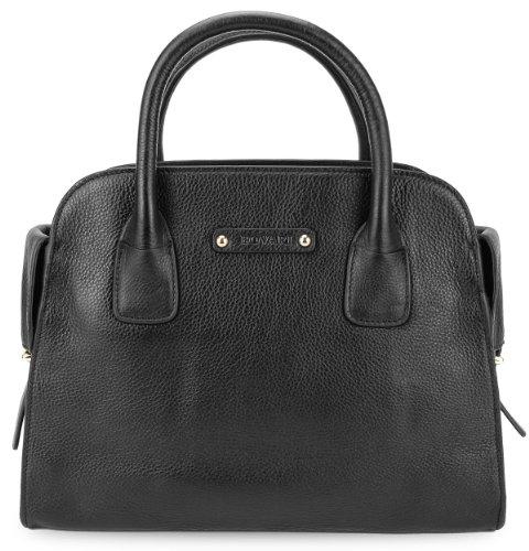 BOVARI sac à main noir - sensual - 35x27x14cm
