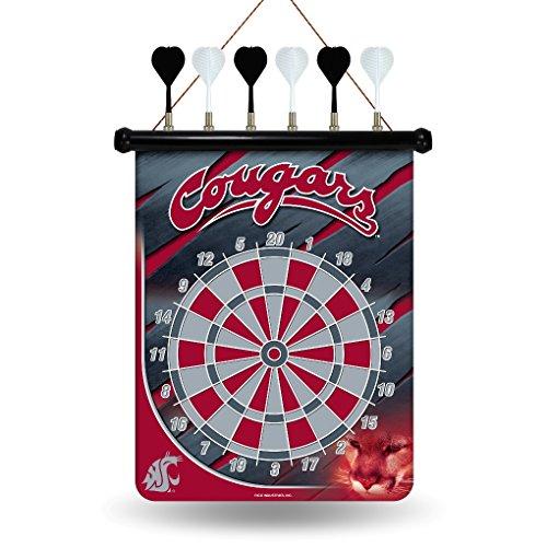NCAA Washington State Cougars Magnetic Dart Board