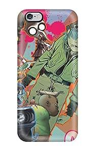 8653878K98760874 New Design Shatterproof Case For Iphone 6 Plus (amazing Gorillaz Phase)