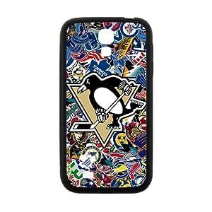 Penguin Hockey Black galaxy s4 case