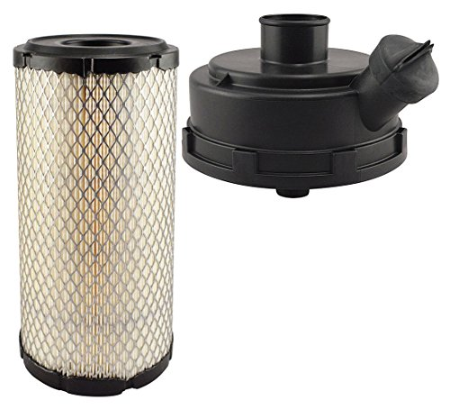 Baldwin Heavy Duty RS5387 KIT Air Filter,5 x 9-29/32 in.