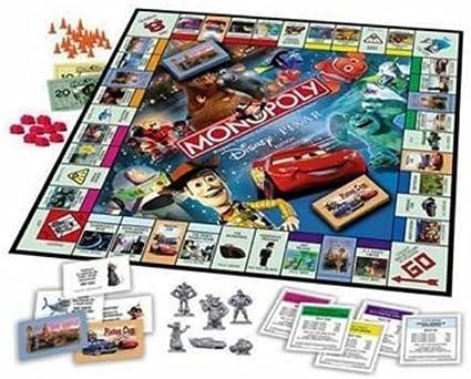 Amazon.com: Monopoly Disney Pixar Edition – Juego de mesa ...