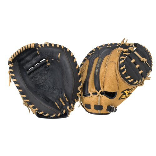 Mizuno World Win GXC75 Catcher's Mitt, 34-Inch, Right Handed (Pattern Baseball Catchers Mitt)