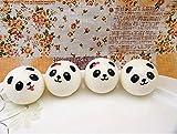 1pc Panda Squishy Kawaii Buns Bread Charms Key/Bag/Cell Phone Straps