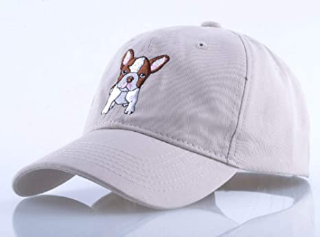 Gorra de béisbol bordado patrón perro gorra de béisbol hombres ...