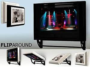 Non motorized motion tv mount flip around tv for Motorized tv wall mount reviews