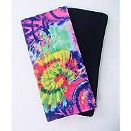 Set of 2 Book Covers: Jumbo Size- Tie Dye Set