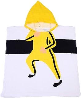 Tunica con cappuccio spa Ragazzi Kung Fu Suit Pattern Accappatoio in cotone biologico Bambini Bambini Bebè Costumi da bagno Costumi da bagno Asciugamani da spiaggia Bagno Accappatoio da bagno con capp