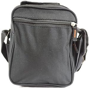 Handy Canvas Style Multi-Purpose Shoulder Bag / Cross Body Bag / Travel Bag (Black, Khaki, Green)