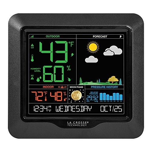 La Crosse Technology Wireless Color Forecast - Ideas Outdoors Date