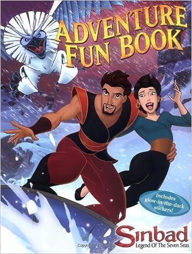 Book Sinbad's Adventure Fun Book (Dreamworks)