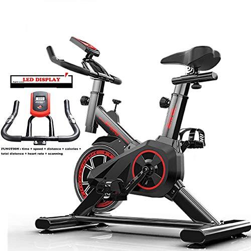 XWDQ Exercise Bike,Indoor Fitness Cycling Bike Stationary, Adjustable Professional Exercise Training Sport Bike of 220…
