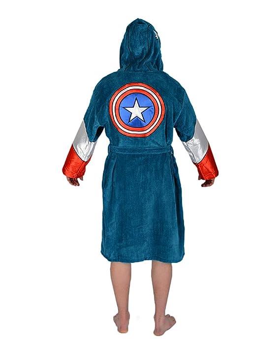 1437a34034c9 Amazon.com  Marvel Universe Captain America Mens Costume Bathrobe  Home    Kitchen