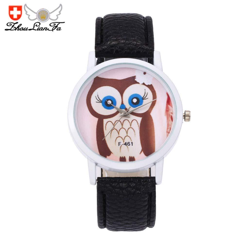 VANSOON Men's Women Fashion Unisex Quartz Leather Analog Wrist Simple Watch Round Case Watch Stainless Steel Digital Waterproof Bracelet Watch Clearance