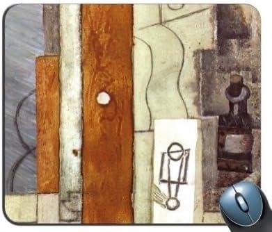 Pablo Picasso – Guitarra Gas – Jet y botella 1913 Alfombrilla de ...