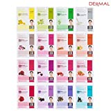 #9: Dermal Korea Collagen Essence Full Face Facial Mask Sheet (16 Combo Pack)