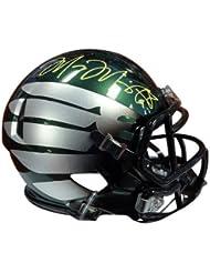 Marcus Mariota Signed Oregon Ducks - Autographed NFL Football Helmets
