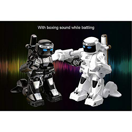 2PC RC Battle Boxing Robot/Toys, Remote Control 2.4G Humanoid Fighting Robot (2PC)
