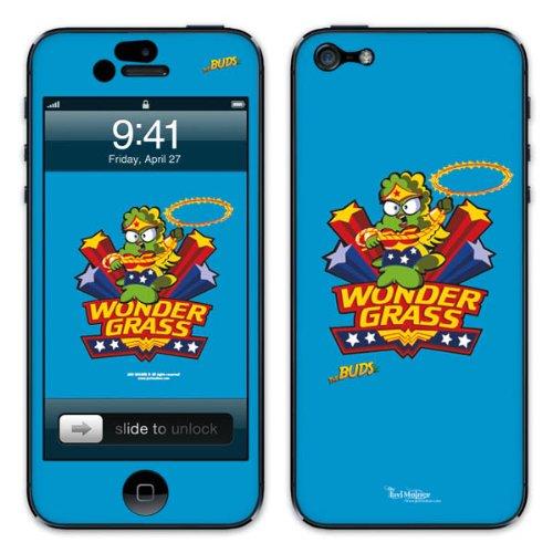 Diabloskinz B0081-0066-0069 Vinyl Skin für Apple iPhone 5/5S Wondergrass